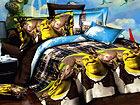 3D voodipesukomplekt Shrek 150x200 cm