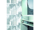 Spirella штора для ванной Skyline серебро