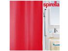 Spirella текстильная штора для ванной Primo красный