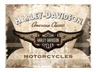 Металлический постер в ретро-стиле Harley-Davidson Motorcycles 30x40 см SG-61608