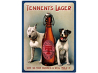 Retro metallposter Tennents Lager 30x40 SG-61677