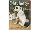 Retro metallposter Old Judge Tobacco 30x40cm SG-61690