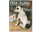 Металлический постер Old Judge Tobacco 30x40 см SG-61690