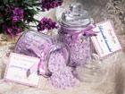 Luksuslik vannisool lavendliga 2 tk