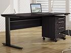 Työpöytä+laatikosto PRIMA sähkö korkeudensäädöllä CM-64717