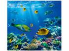Fototapeet Underwater world 300x280cm