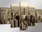 Viisiosainen seinätaulu NEW YORK ED-65594