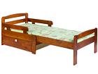 Удлиняющаяся детская кровать Kiku + ящик