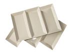 Valkoinen lautanen CLASSIC 23,5x12 cm