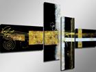 Neliosainen seinätaulu YÖ ED-66699