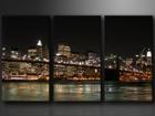 Kolmeosaline seinapilt New York