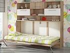 Детская откидная кровать-шкаф 90x200 cm