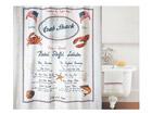 Spirella текстильная штора для ванной Crab Snack