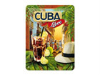 Retro metallposter Cuba Libre 15x20cm SG-68142