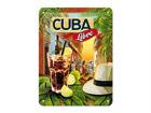 Retro metallijuliste Cuba Libre 15x20cm SG-68142