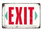 Retro metallposter Exit 20x30cm SG-68153