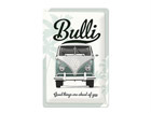 Retrotyylinen metallijuliste VW BULLI GOOD THINGS ARE 20x30 cm SG-68160