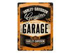 Retro metallijuliste Harley-Davidson Garage 30x40 cm SG-68162