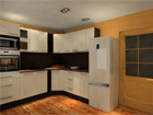 Baltest köögimööbel Victoria