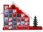Joulukalenteritalo LED valoilla AA-69664