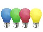 Dekoratiivne plastikust LED-pirn valgusketile