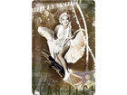 Retro metallijuliste Marilyn Monoroe Hollywood 20x30cm SG-73484