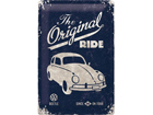 Retro metallijuliste VW Beetle The Original Ride 20x30 cm SG-73485
