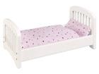 Деревянная кровать для куклы