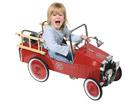 Metallist tuletõrjeauto pedaalidega