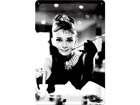 Retro metallposter Breakfast at Tiffany´s Audrey SG-73767