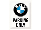 Retro metallijuliste BMW Parking only 30x40cm SG-74245