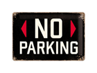 Retro metallijuliste No parking 20x30cm SG-74247