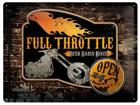 Металлический постер в ретро-стиле Full Throttle 30x40 см SG-74258