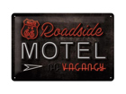 Retro metallposter Route 66 Roadside Motel 20x30cm SG-74268