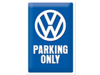 Retro metallijuliste VW Parking only 20x30 cm SG-74271