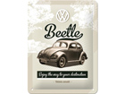 Retro metallijuliste VW Beetle 15x20cm SG-74272