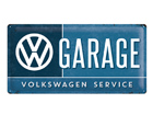 Retro metallijuliste VW Garage 25x50cm SG-74273