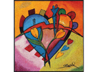 Ковёр Balanced love II 85x85 cм A5-74298