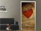 Fototapeet With all my heart 100x210cm