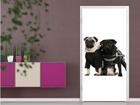 Fototapeet Posh Pug Dogs 100x210cm ED-76685