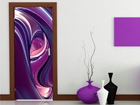 Fototapeet Purple Circles 100x210cm ED-76705