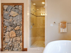 Fototapeet Wall of Granite 100x210cm