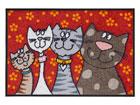 Vaip Katzenfamilie 50x75 cm A5-77254