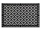 Vaip Tabuk Black & White 75x120 cm