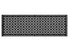 Vaip Tabuk Black & White 60x180 cm