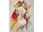 Öljymaalaus Naisen muotokuva 120x80 cm