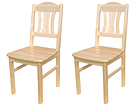 Tuolit PER, 2 kpl, mänty EC-78340