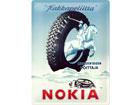 Retro metallposter Nokia Hakkapeliitta 30x40cm SG-78382