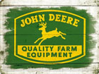 Retro metallposter John Deere Quality Farm Equipment logo 30x40cm SG-78435