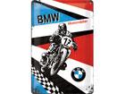 Металлический постер в ретро-стиле BMW Motorräder 20x30 см SG-80068
